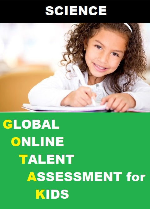 Class 1, Global Online Talent Assessment for Kids (GOTAK) - Science - Olympiad
