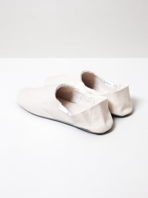 ABE Canvas Home Shoes - Wool-Lined