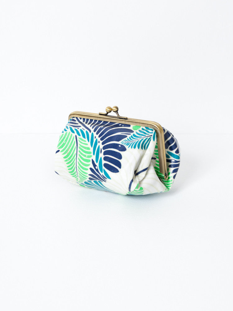 Cosmetic Bag - Basho Green