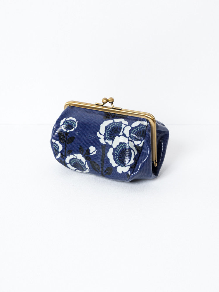 Cosmetic Bag - Camellia Navy