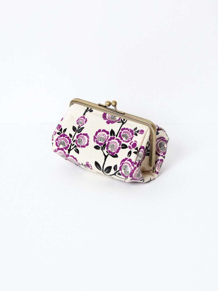 Cosmetic Bag - Camellia Purple