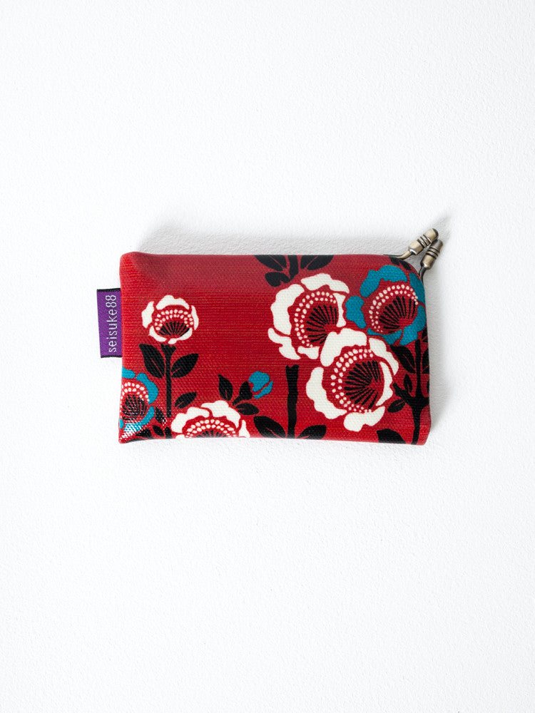 Card Case - Camellia Red