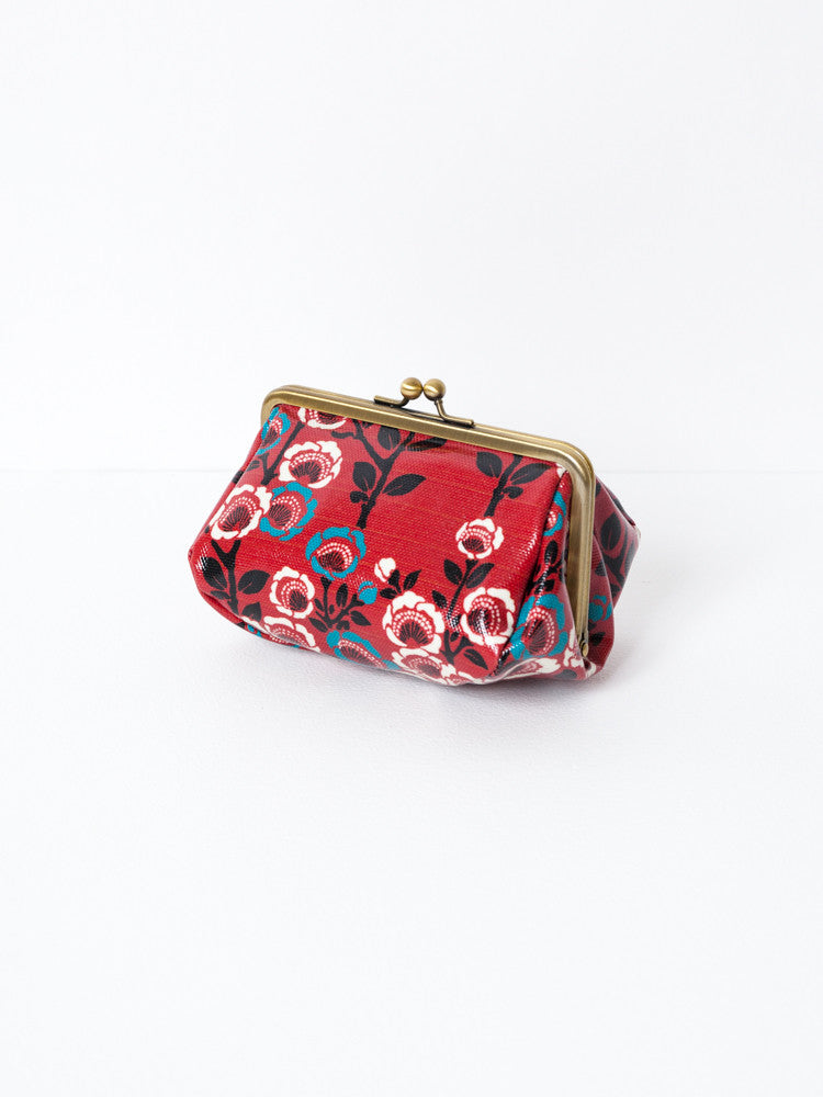 Cosmetic Bag - Camellia Red