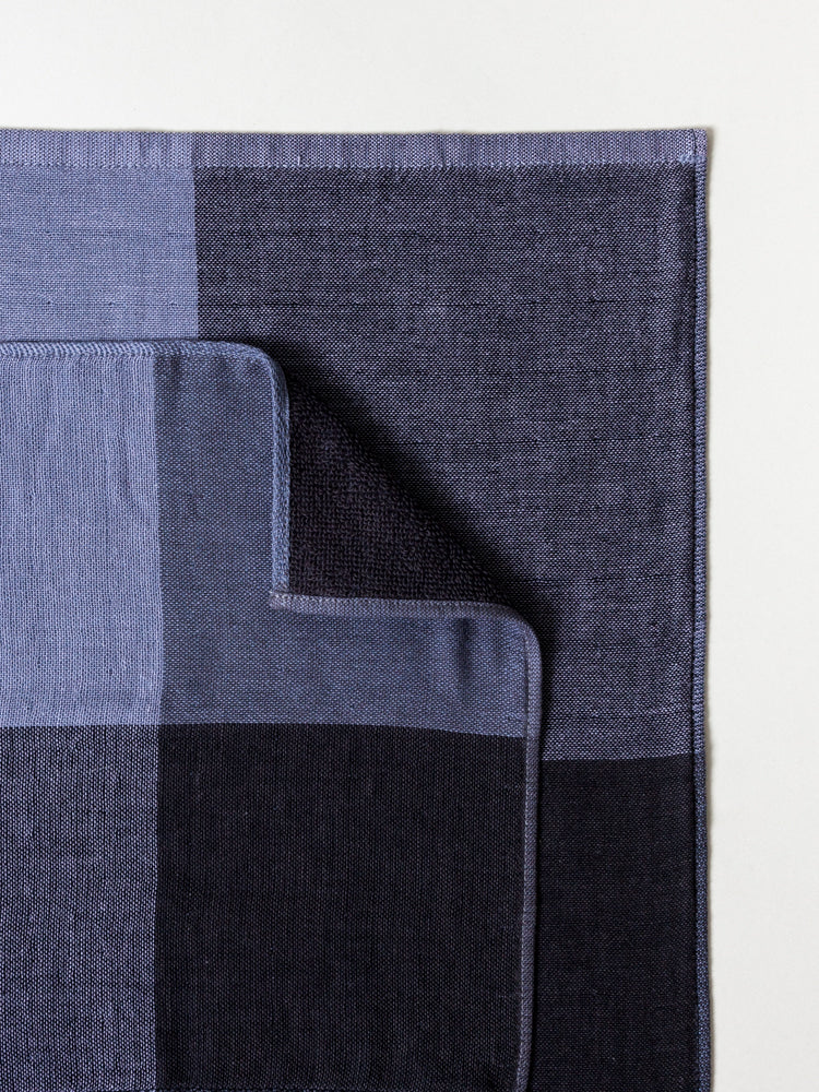 Chambray Block Towel