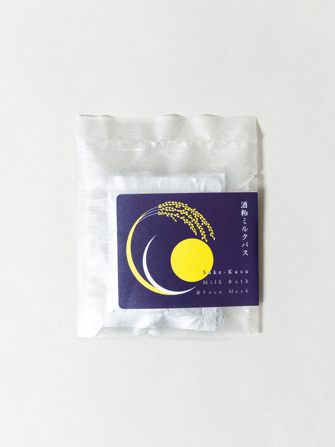 SAKE-KASU Milk Bath + Face Mask