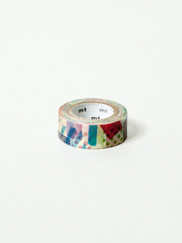 MT Washi Tape - Confetti Shapes