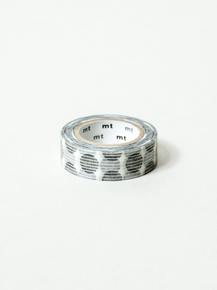 MT Washi Tape - Silver Moons - rikumo japan made