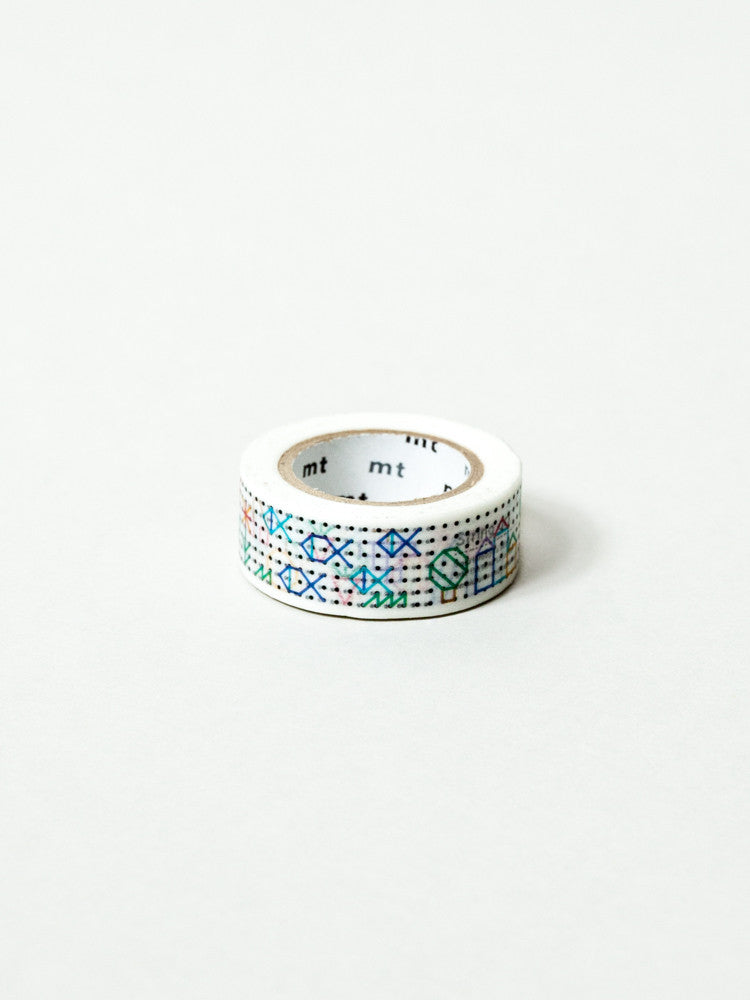 MT Washi Tape - String Art - rikumo japan made