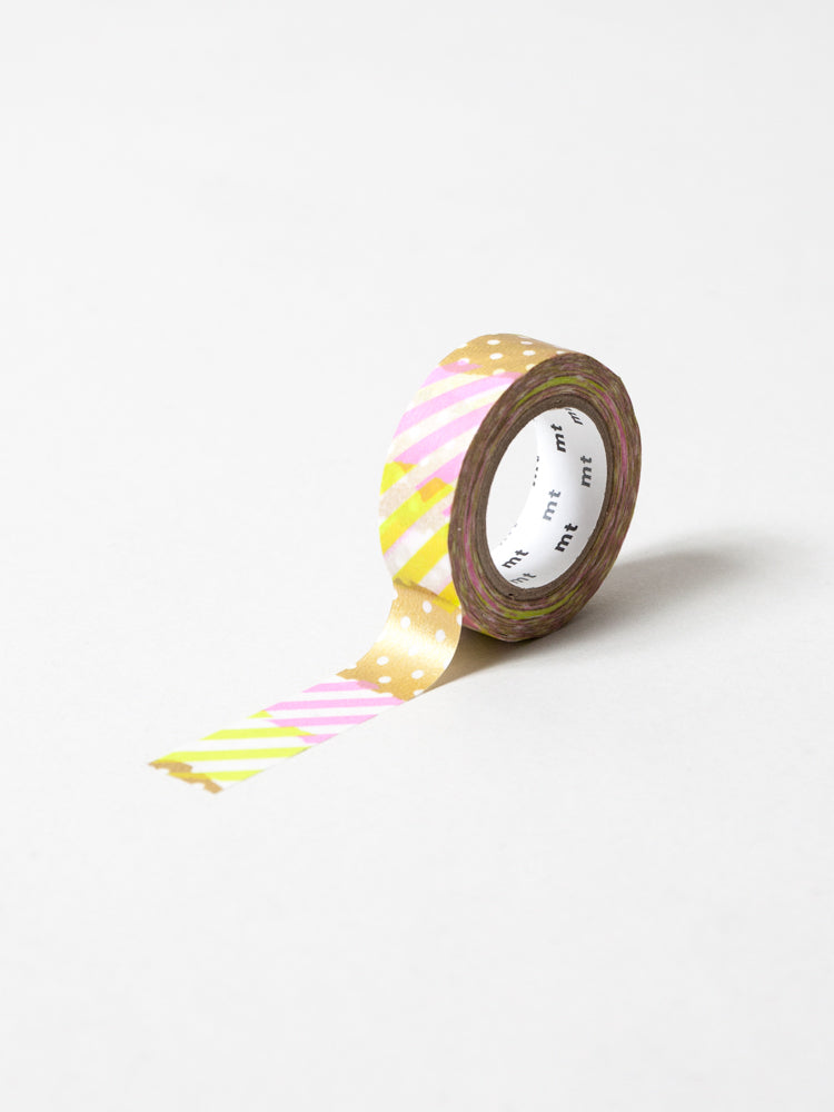 MT Washi Tape - Tsugi Hagi Pink