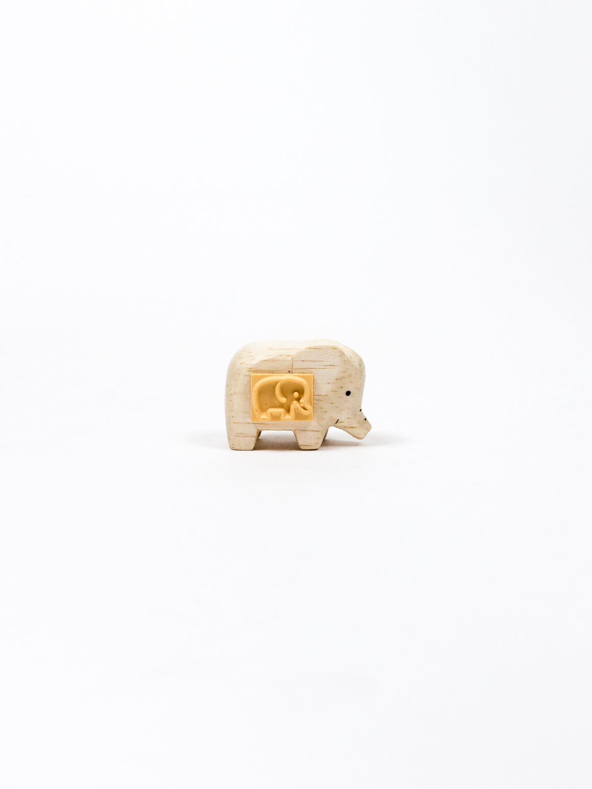 Wooden Animal Stamp - Elephant