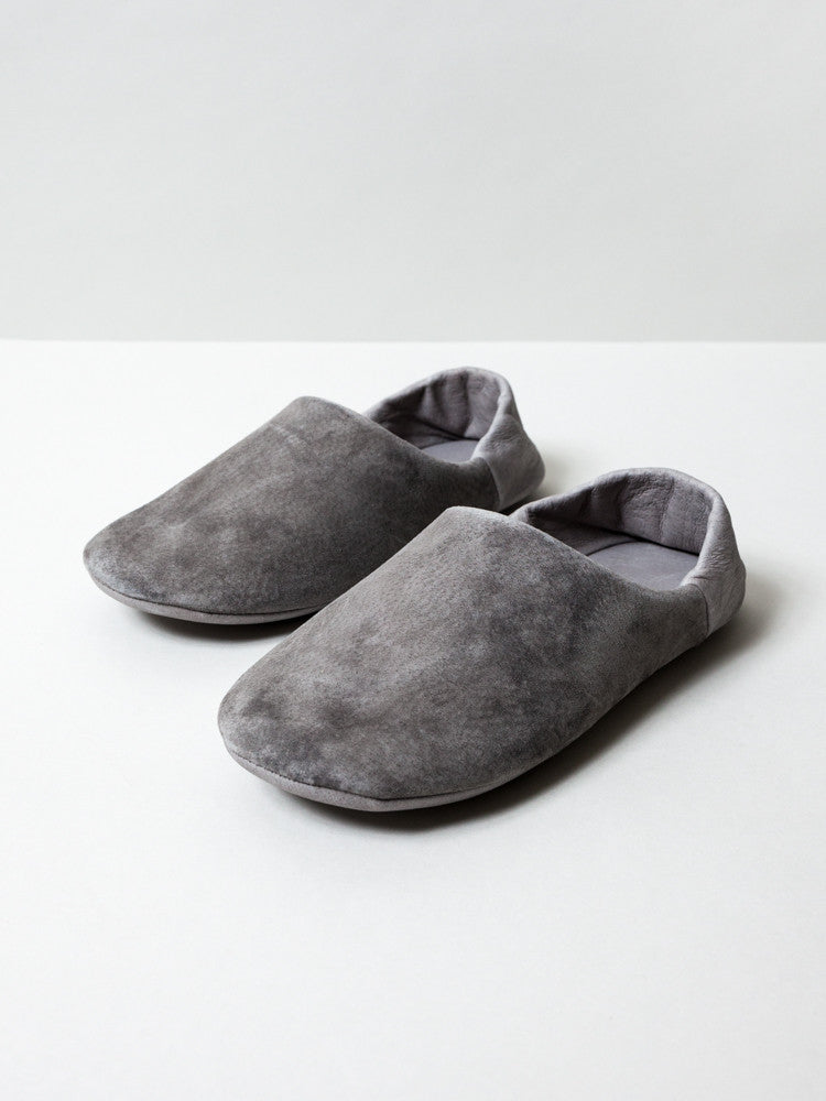 Leather Room Shoes - rikumo japan made