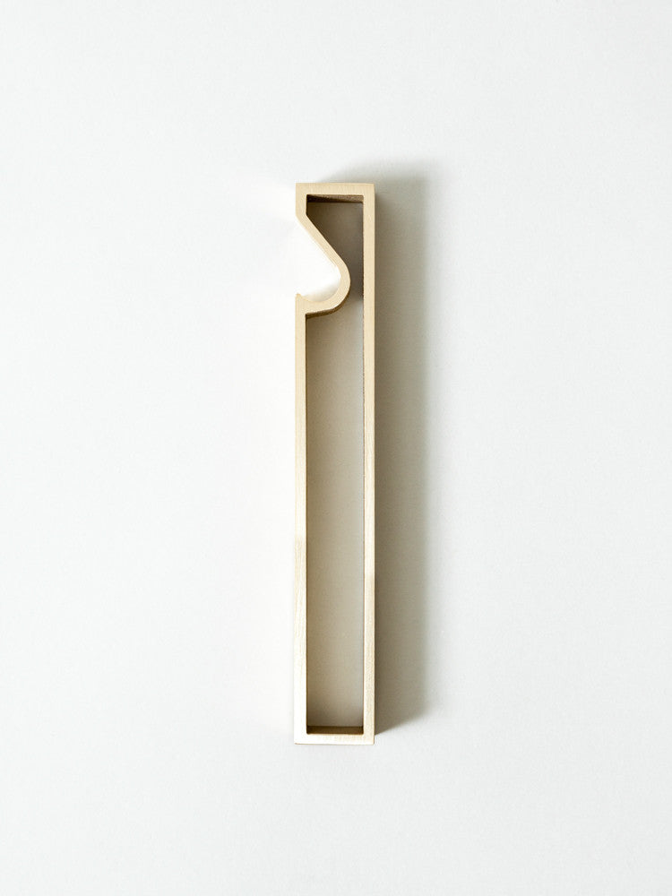 Futagami Brass Bottle Opener - Frame - rikumo japan made