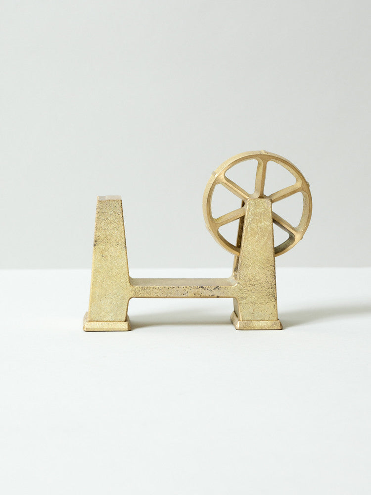 Futagami Brass Tape Dispenser - rikumo japan made