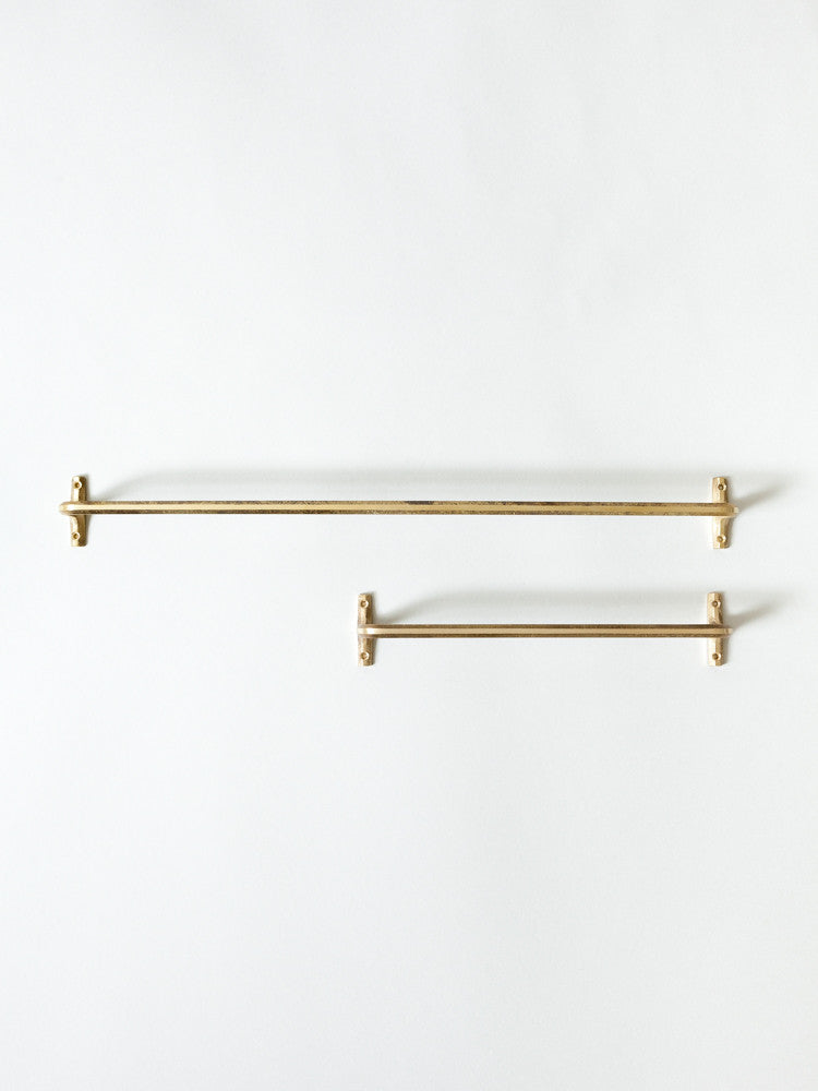 Futagami Brass Towel Bar - rikumo japan made