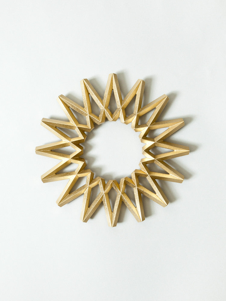 Futagami Brass Trivet - Galaxy - rikumo japan made