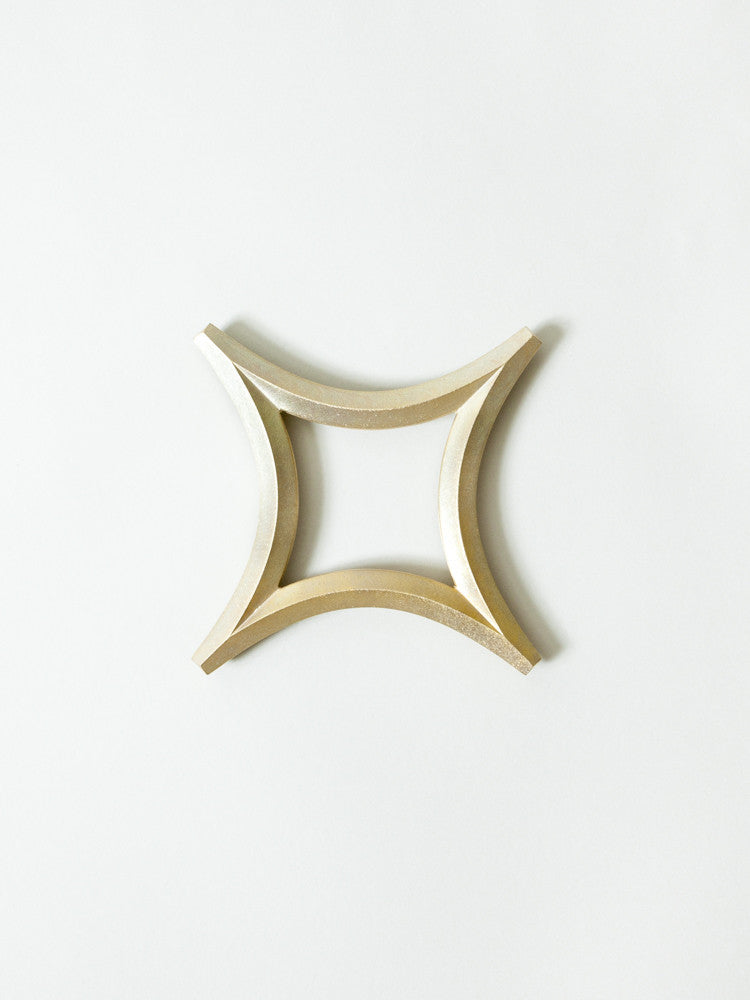 Futagami Brass Trivet - Star - rikumo japan made