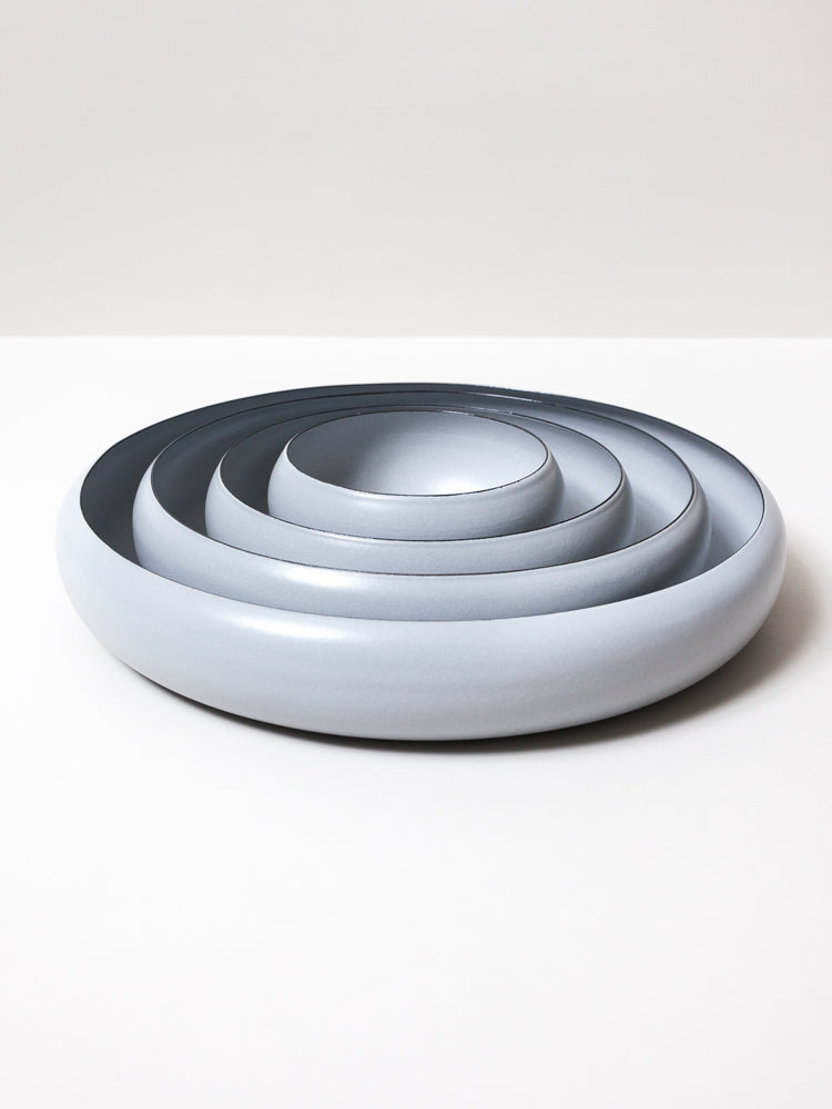Ovject Bowl, Matte Grey