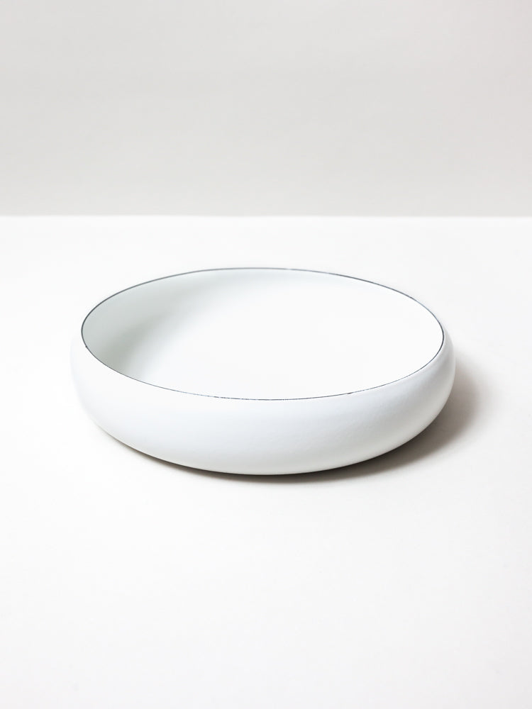 Ovject Bowl, Matte White