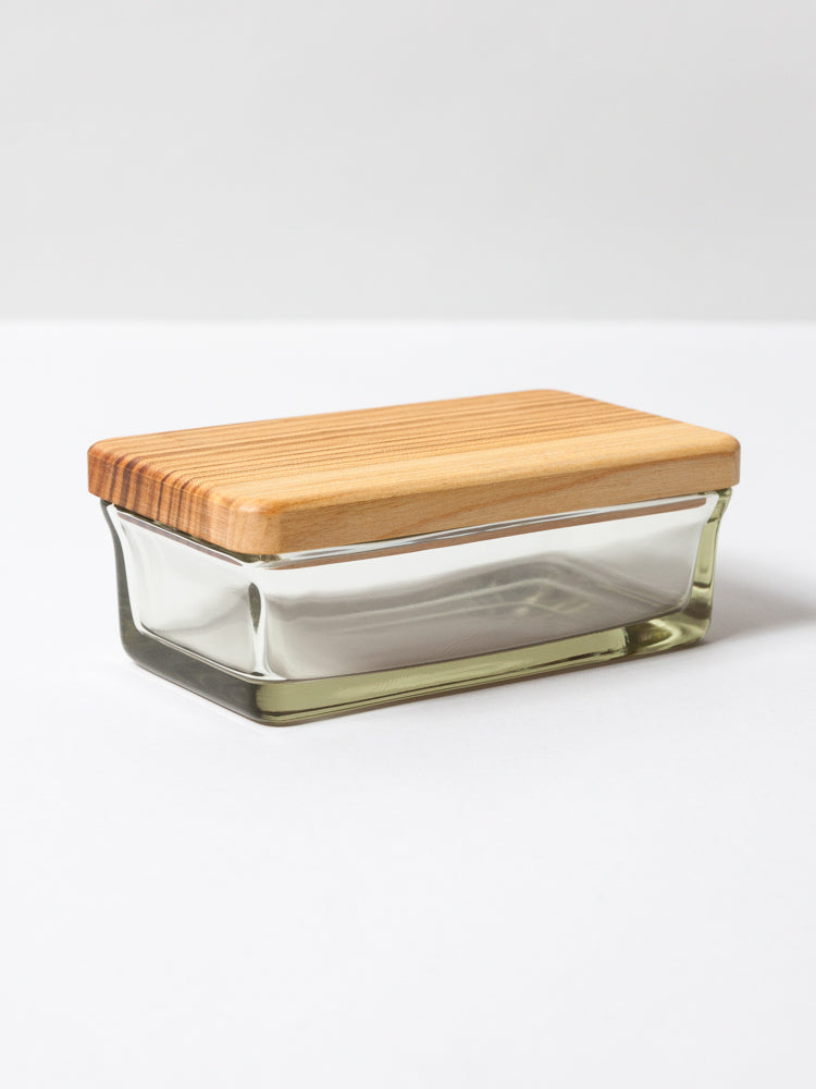 Hirota Glass Butter Case