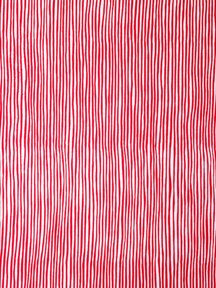 Kamawanu Tenugui - Jima Stripes Red