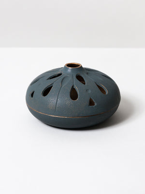 Cast Iron Incense Holder - Shizuku Bronze