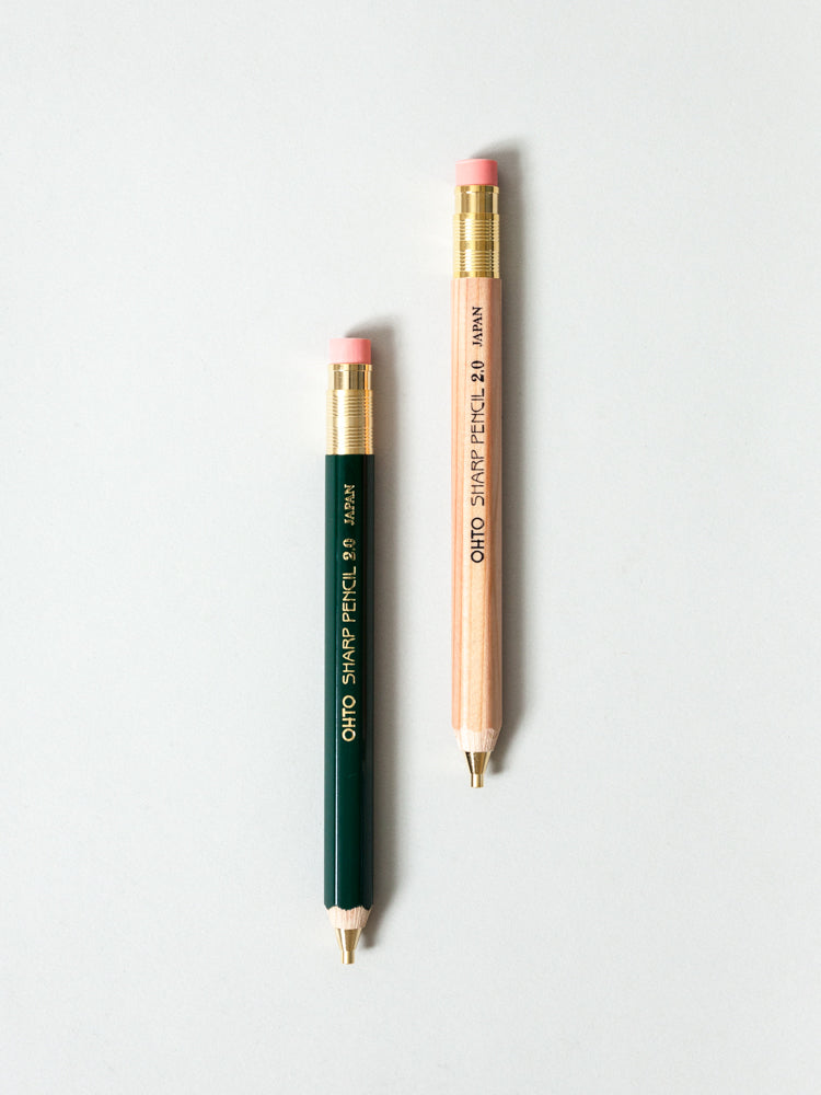 Ohto Wooden 2.0 Mechanical Pencil
