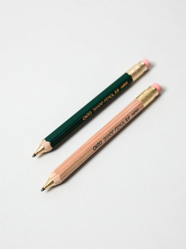 Ohto Wooden 2 0 Mechanical Pencil Rikumo