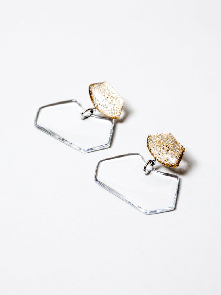 KUTITTAA Puzzle Earrings - No.11