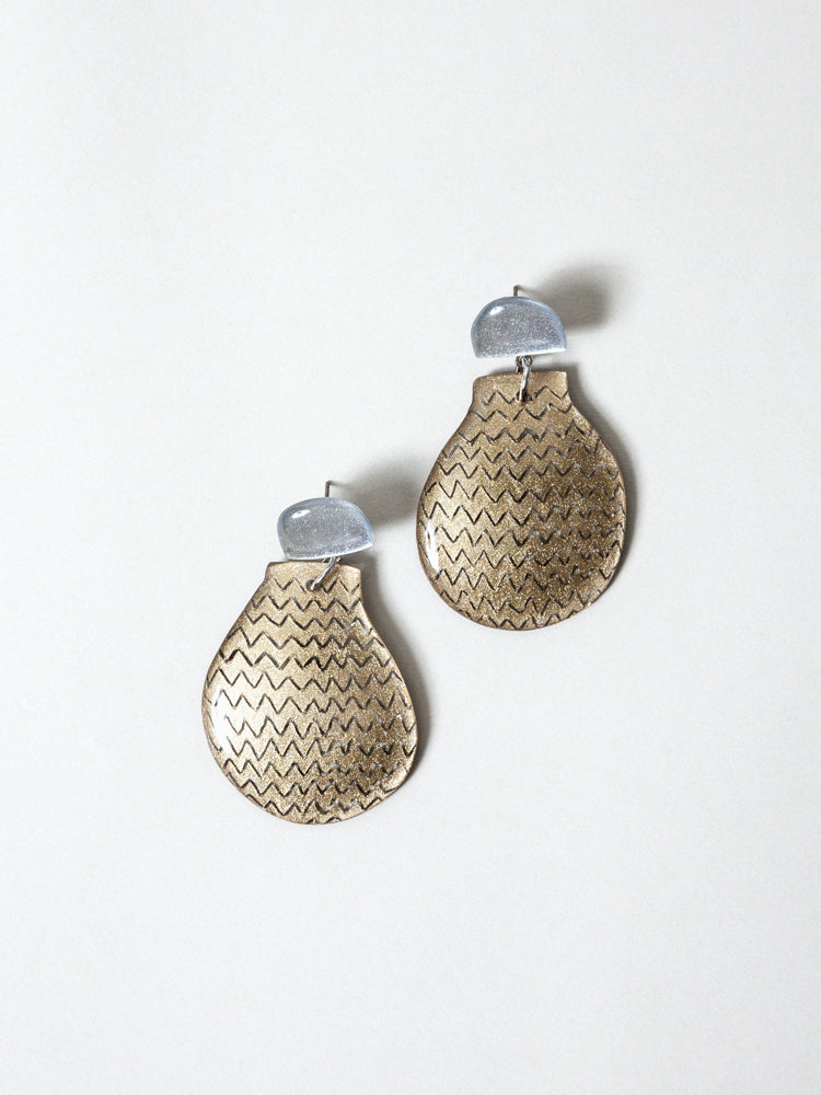 KUTITTAA Puzzle Earrings - No.3