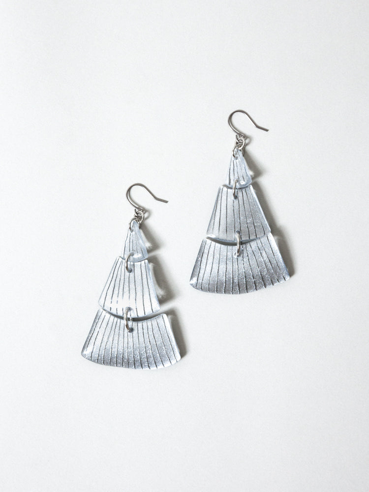 KUTITTAA Puzzle Earrings - No.5