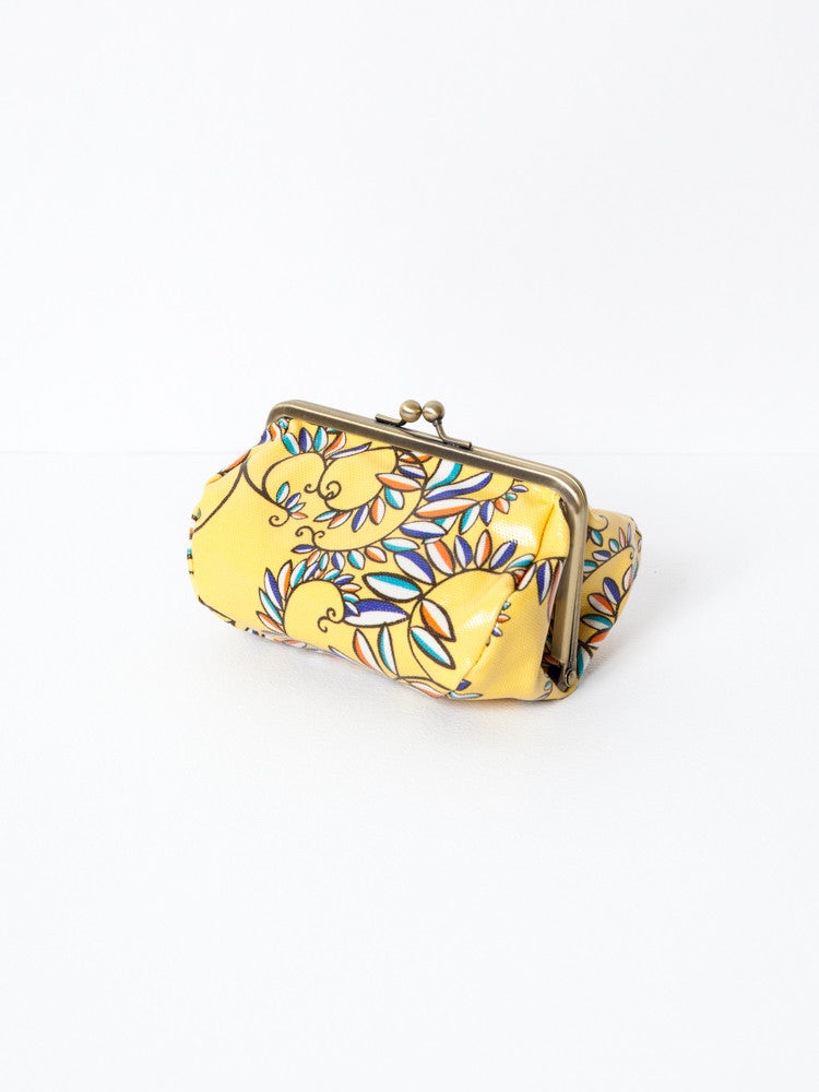 Cosmetic Bag - Karakusa Yellow