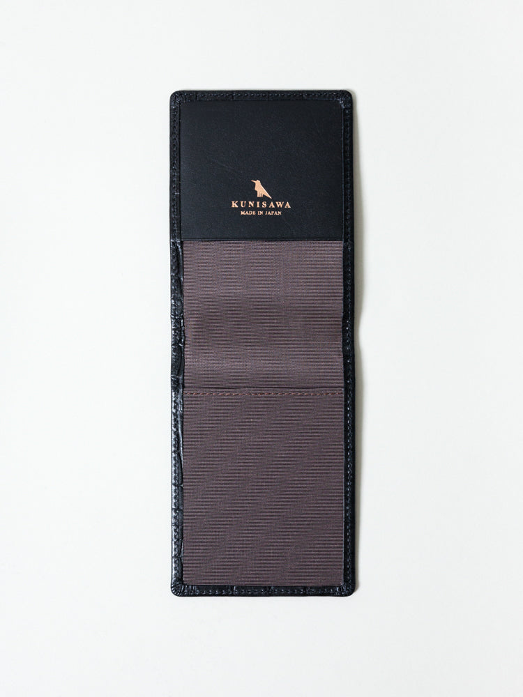 Kunisawa Find Leather Memo Cover