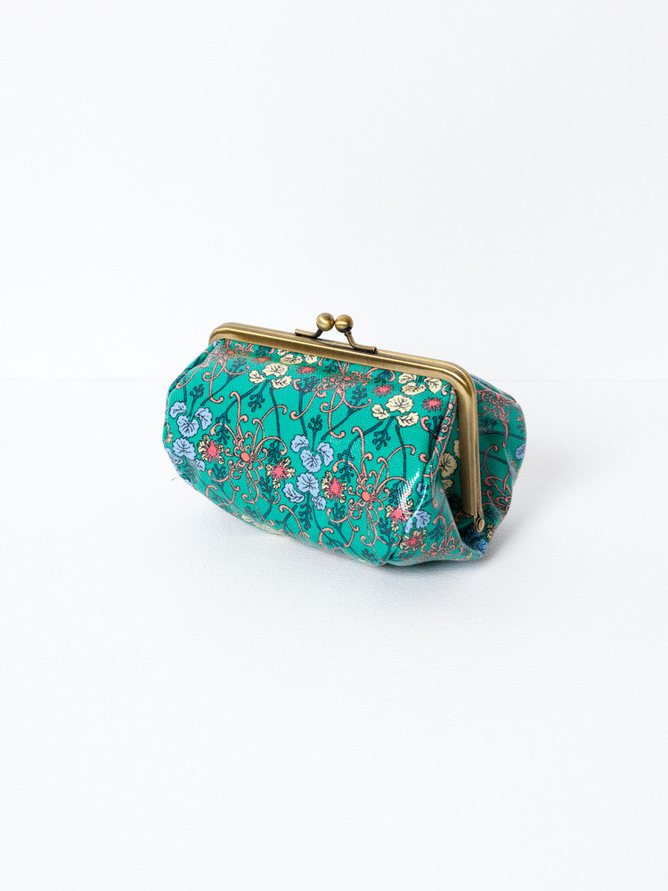 Cosmetic Bag - Kiku Green