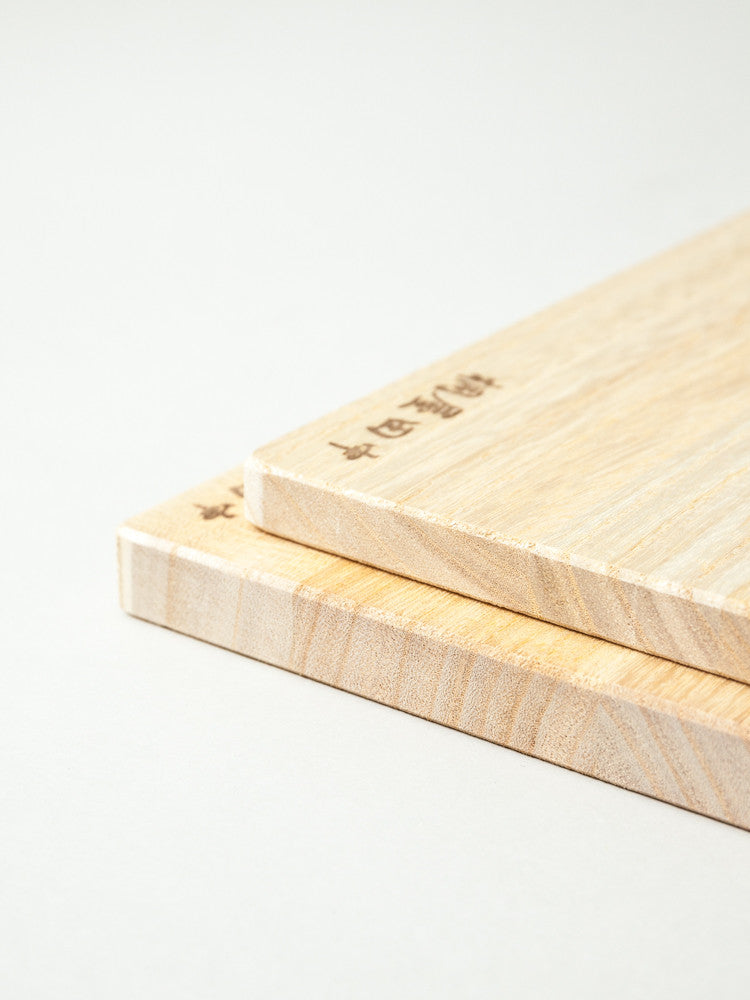 Paulownia Cutting Board - rikumo japan made