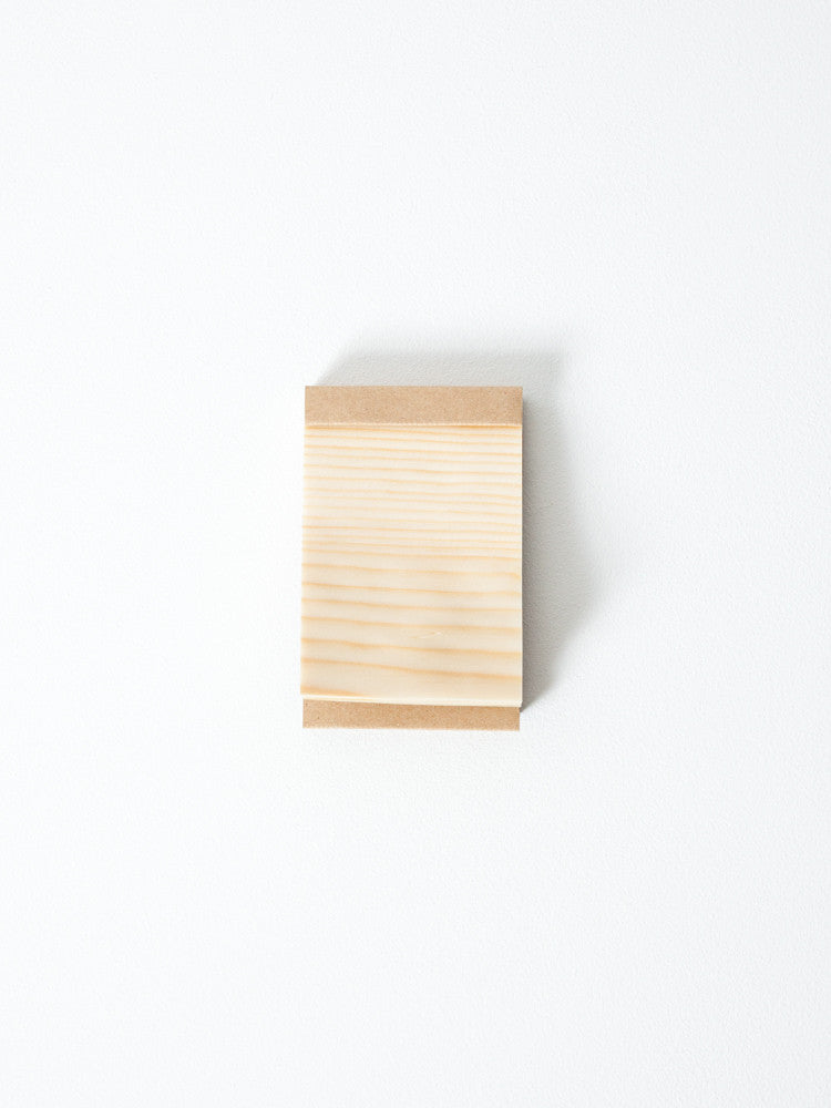 Kizara Wood Sheet Memo Pad