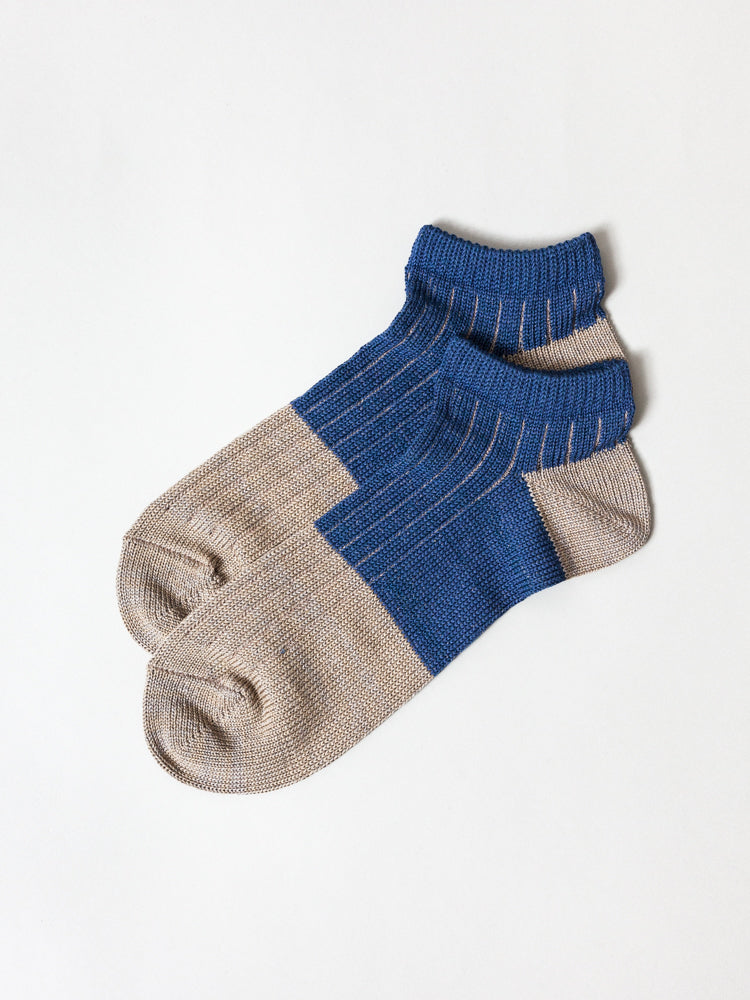 Linen Cotton Ankle Socks