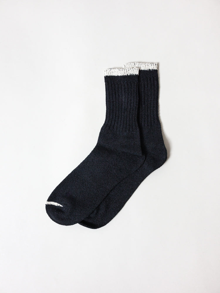 Silk Cotton Socks, Black