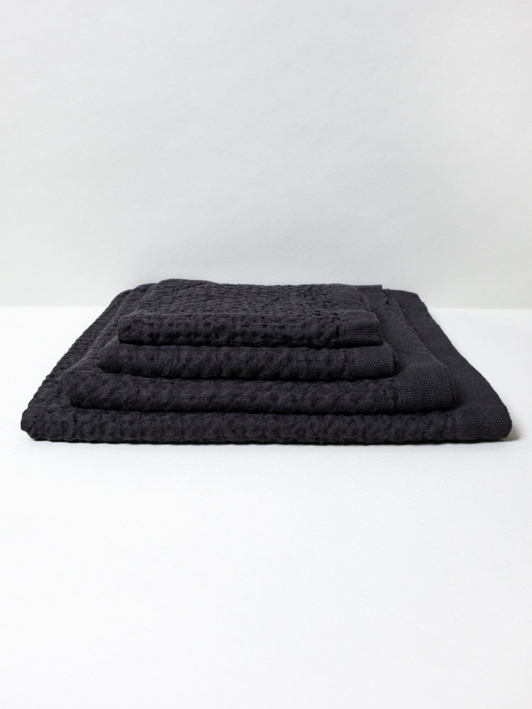 Lattice Linen Towel - rikumo japan made