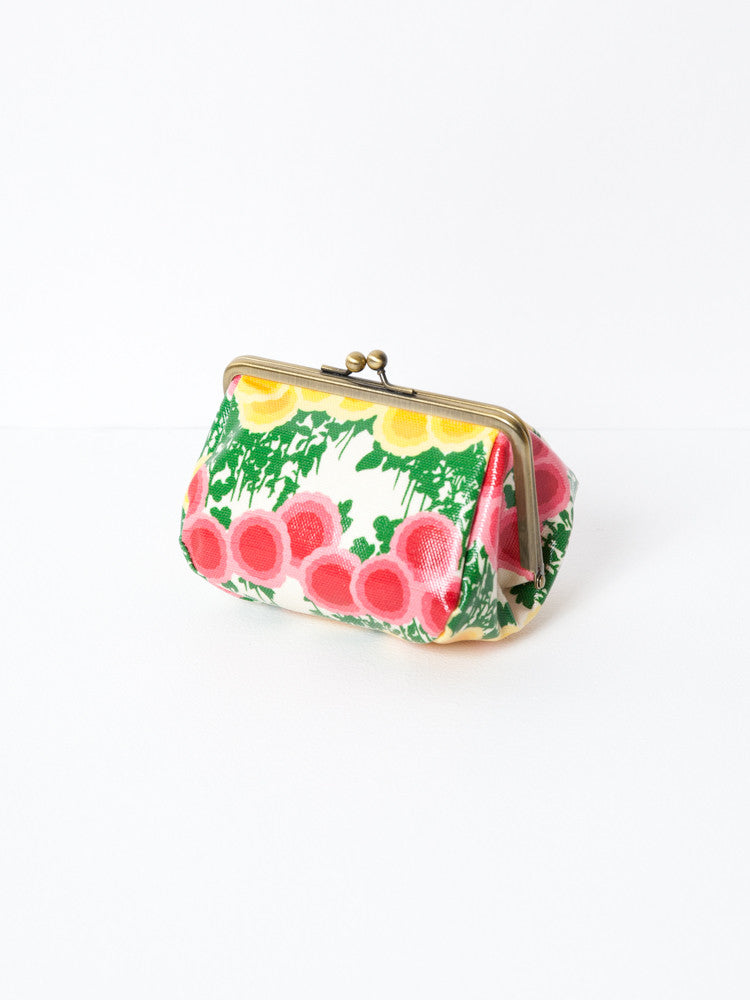 Cosmetic Bag - Manju Kiku White