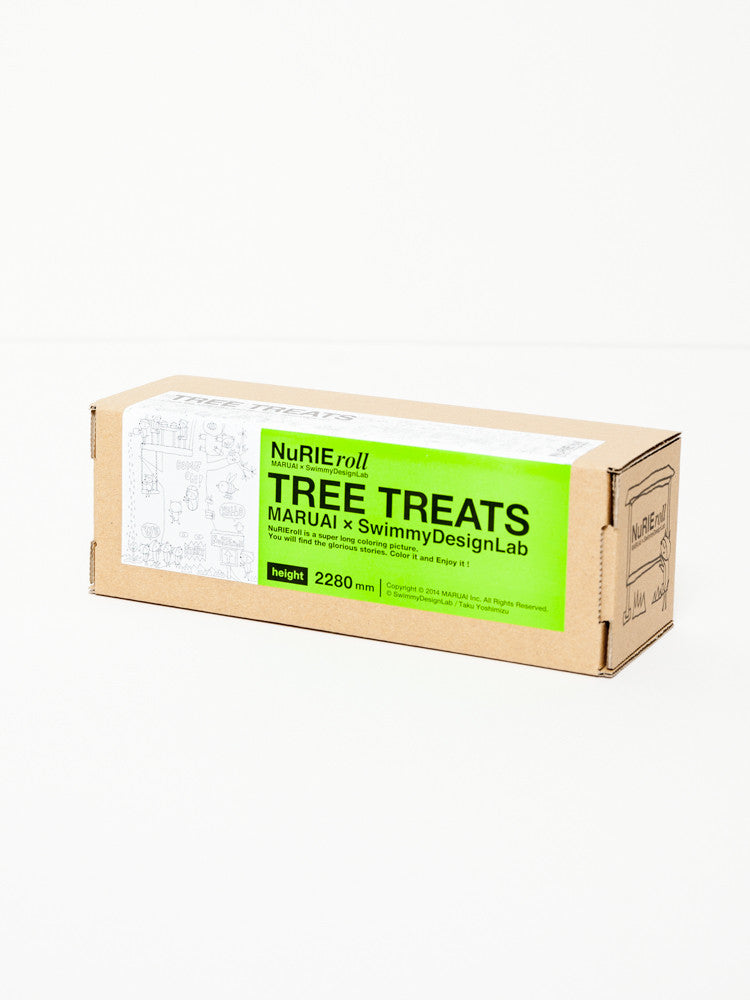 NuRIE Coloring Roll - Tree Treats - rikumo japan made