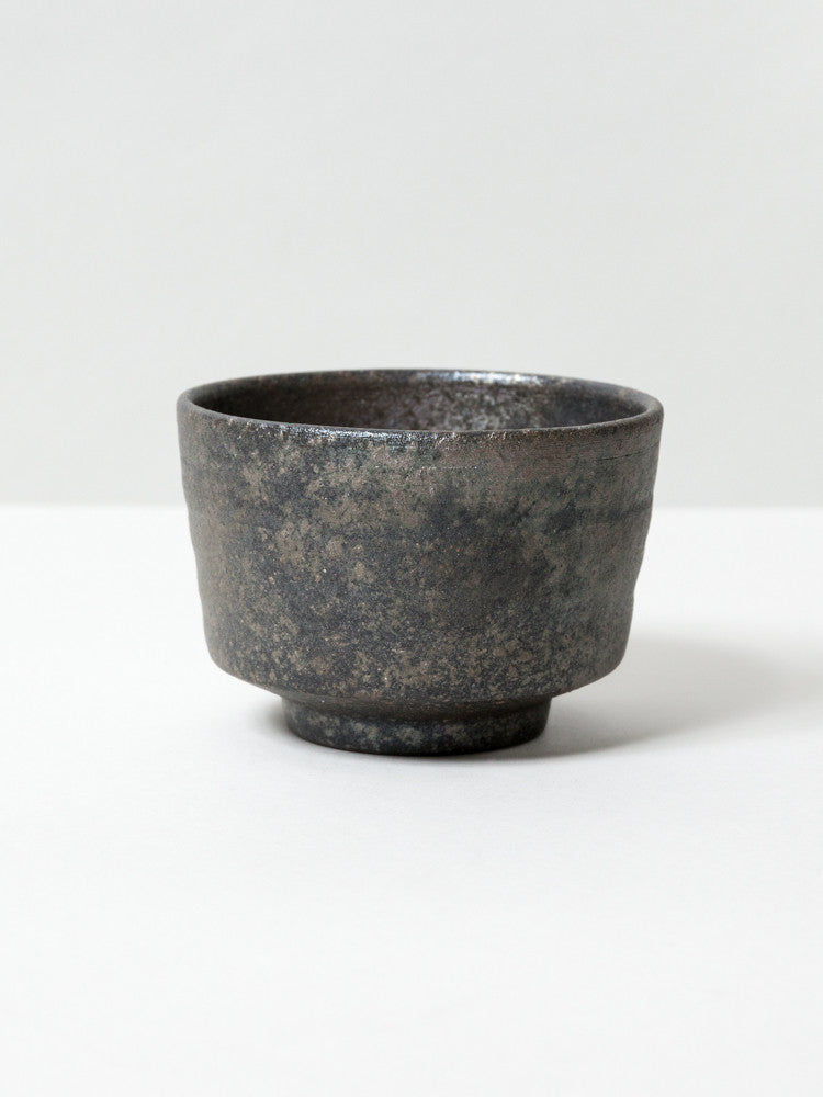 Youhen Ibushi Matcha Bowl - rikumo japan made