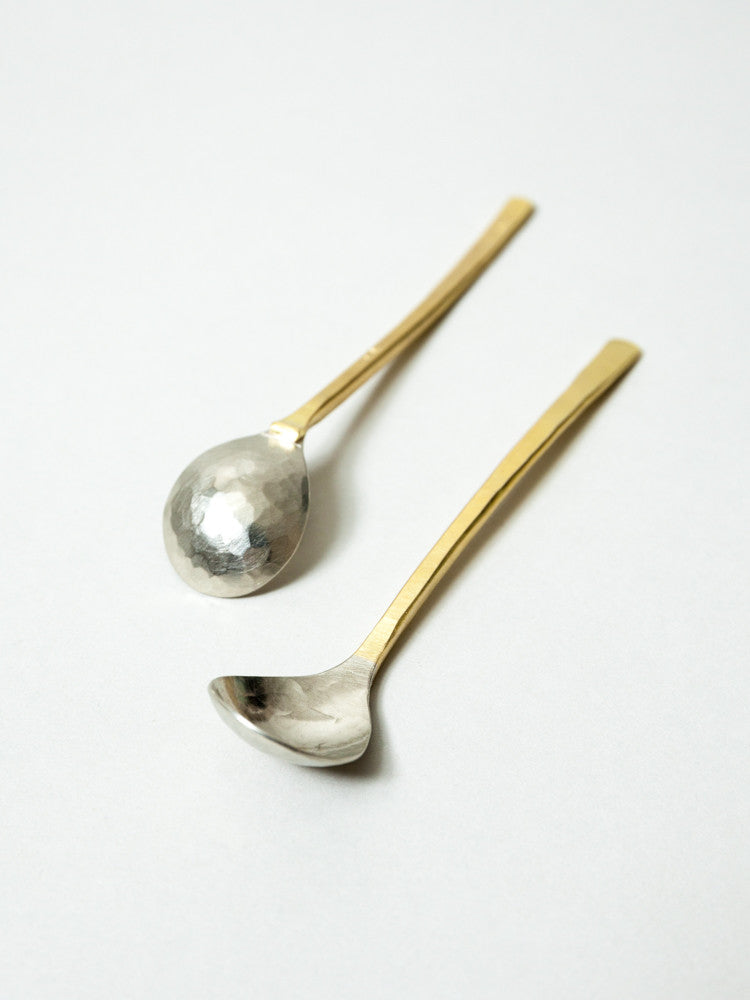 Albata Sugar Spoon - rikumo japan made