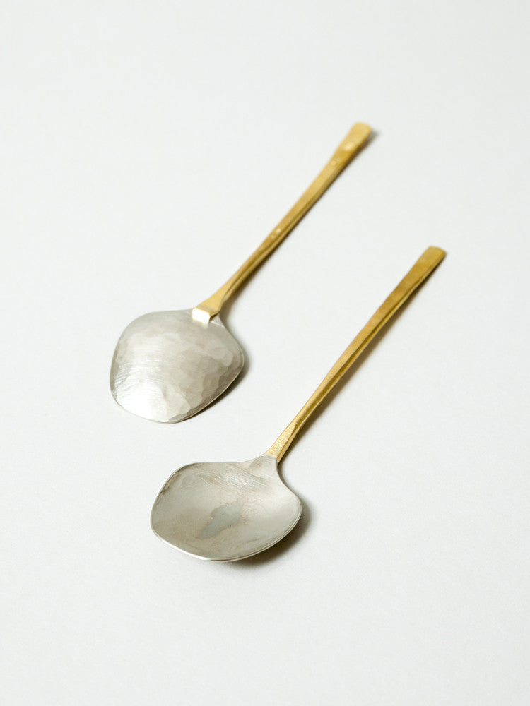 Albata Tiramisu Spoon - rikumo japan made