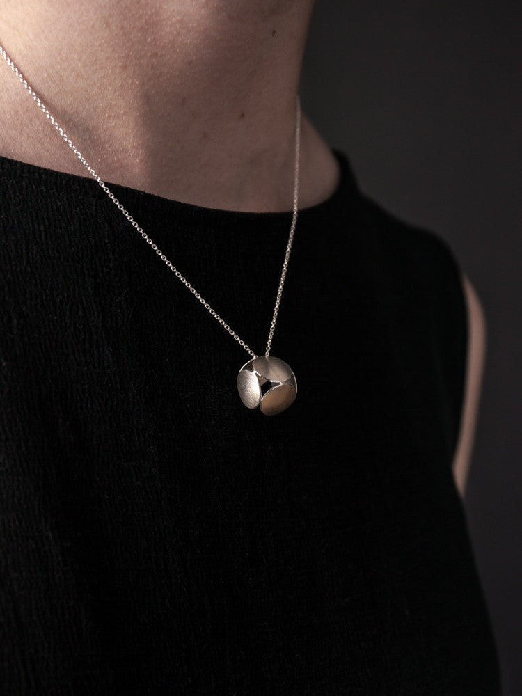 Cube Necklace - rikumo japan made