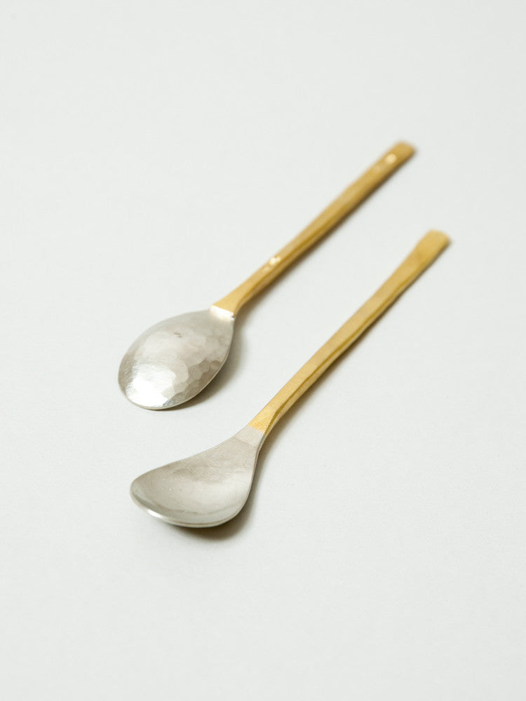 Albata Tea Spoon - rikumo japan made