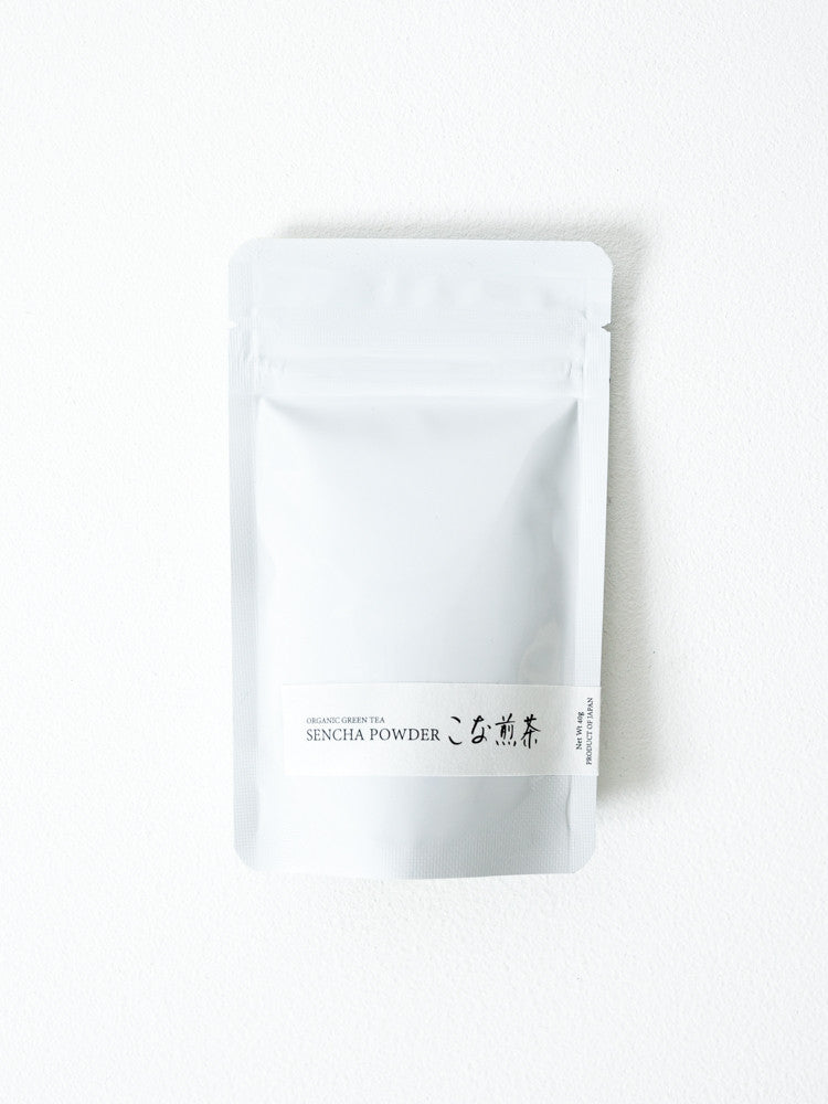 Organic Green Tea Sencha Powder - rikumo japan made