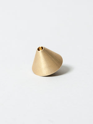 Acorn Brass Incense Holder
