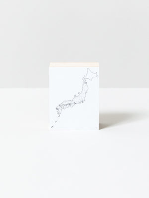 Japanese Map Stamp