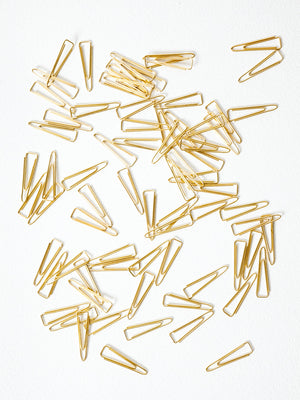 Brass Paper Clips - rikumo japan made