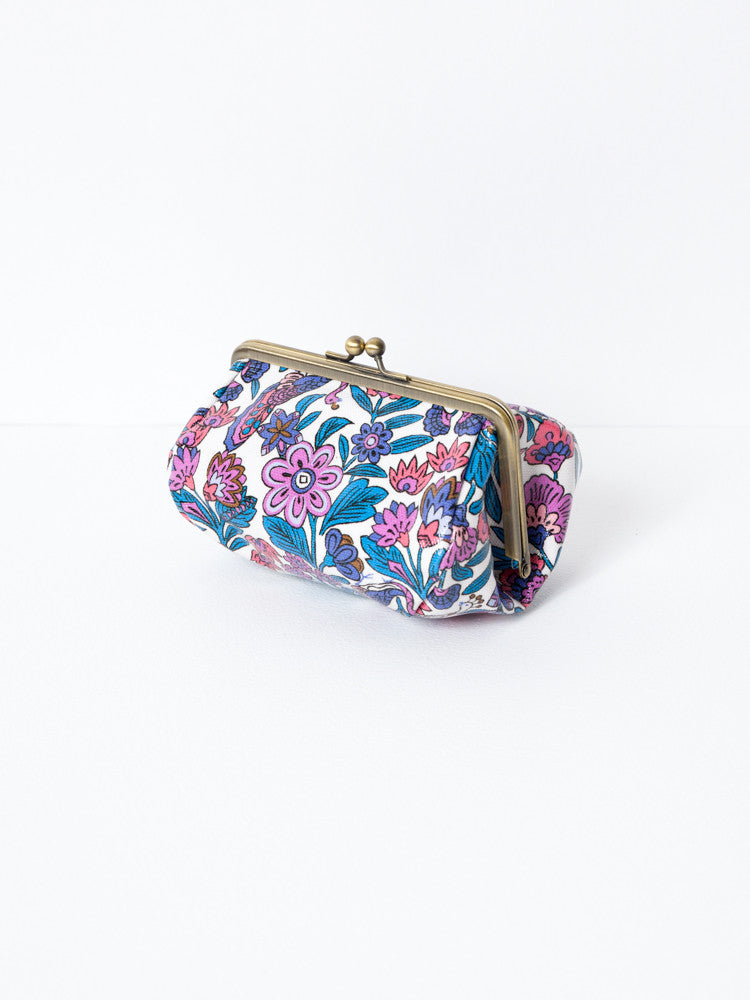 Cosmetic Bag - Peacock Purple